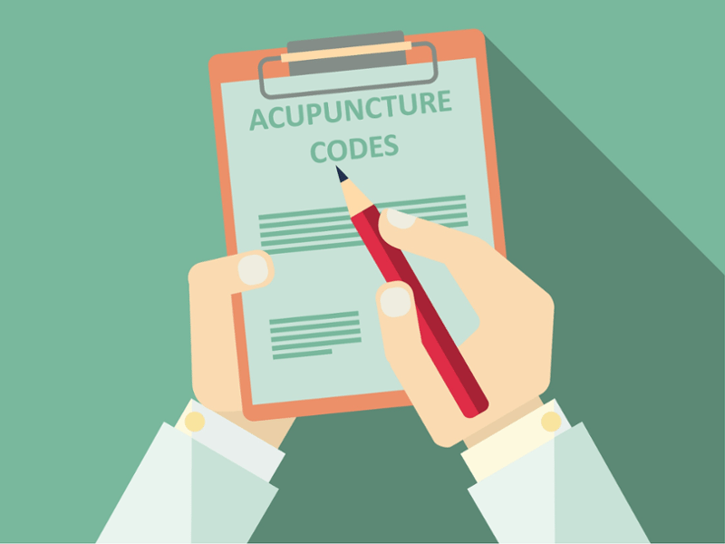 Frequently Used Acupuncture Insurance Billing Codes